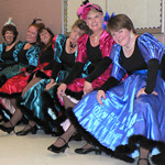 Cancan performed at Debbie Reynolds recital 6-16-2007