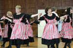 The Maple Run dance troupe performs clogging, Cajun, Canadian and Americana style dances