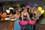 The Wind Sand and Desert Feet dance troupe performs a wide variety of Middle Eastern and African dances often referred to collectively as Belly Dancing